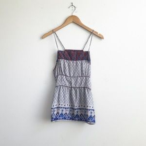 Free People : Sophie's Paisley Silk Tank Size XS